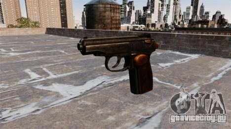 Пистолет Макарова для GTA 4 третий скриншот