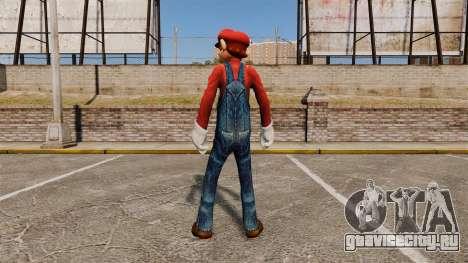 Марио для GTA 4 второй скриншот