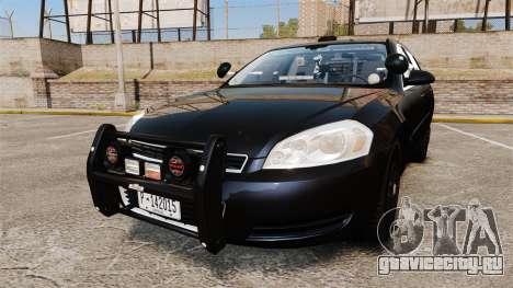 Chevrolet Impala 2010 LS Unmarked K9 Unit [ELS] для GTA 4