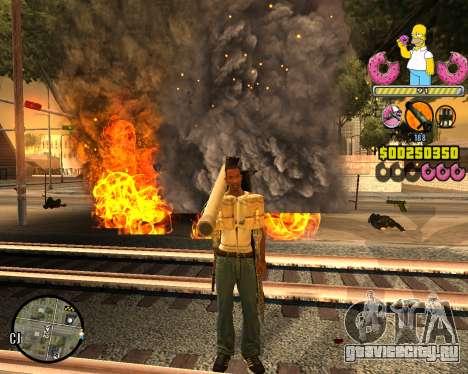 C-HUD Mr. Simpson для GTA San Andreas второй скриншот