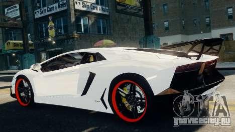 Lamborghini Aventador LP720-4 2012 для GTA 4 вид слева