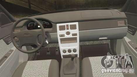 ВАЗ-2170 Lada Priora v2.0 для GTA 4 вид сбоку