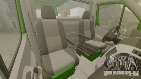 Mercedes-Benz Sprinter 2500 2011 Hungarian Post для GTA 4 вид сбоку