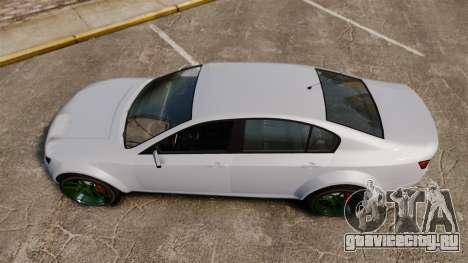 GTA V Cheval Fugitive new wheels для GTA 4 вид справа