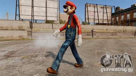 Марио для GTA 4 третий скриншот
