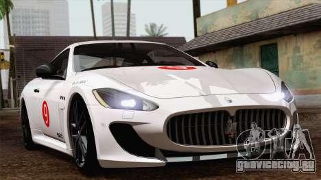 Maserati GranTurismo MC Stradale для GTA San Andreas вид справа