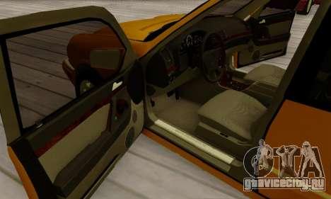 Mercedes-Benz E320 Wagon для GTA San Andreas вид сверху