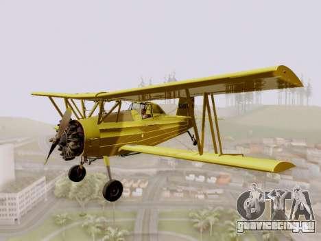 Grumman G-164 AgCat для GTA San Andreas