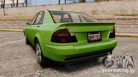 Sultan New Wheel для GTA 4 вид сзади слева