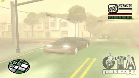 Weather Menu для GTA San Andreas