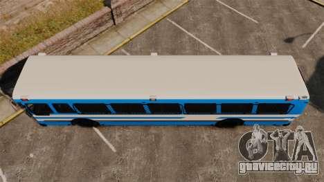 Brute Bus Japanese Police [ELS] для GTA 4 вид справа