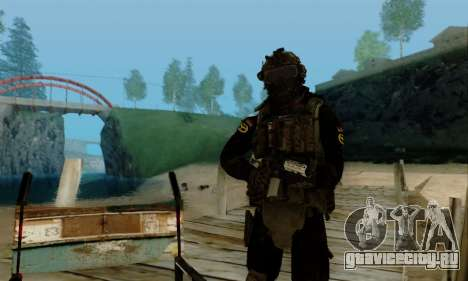 Kopassus Skin 2 для GTA San Andreas седьмой скриншот