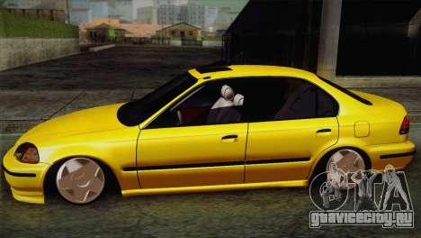 Honda Civic Edit Mehmet ALAN для GTA San Andreas вид слева
