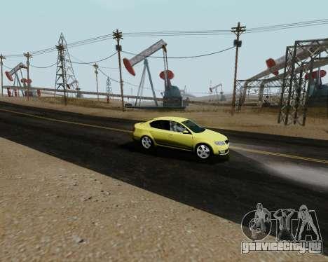Skoda Octavia A7 для GTA San Andreas вид справа