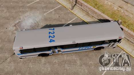 Brute Bus LCPD [ELS] для GTA 4 вид справа