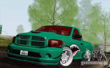 Dodge Ram SRT10 Shark для GTA San Andreas