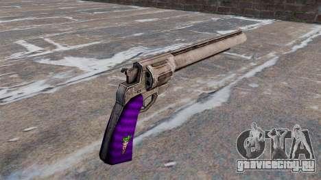 Револьвер -Joker- для GTA 4 второй скриншот