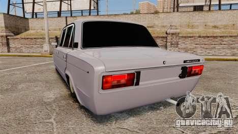 ВАЗ-2106 Жигули БУНКЕР для GTA 4 вид сзади слева