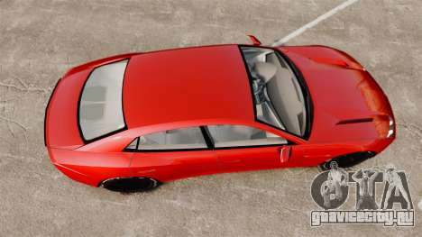 Lamborghini Estoque Concept 2008 для GTA 4 вид справа