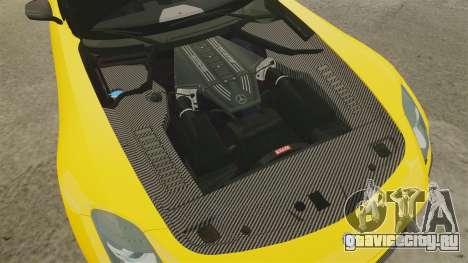 Mercedes-Benz SLS 2014 AMG Performance Studio для GTA 4 вид изнутри