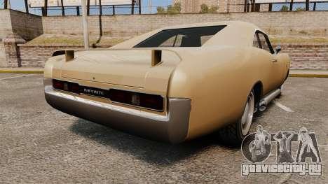 Imponte Dukes new wheels для GTA 4 вид сзади слева