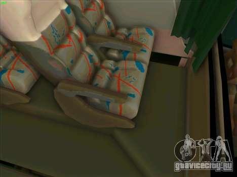 JR Australian Express для GTA San Andreas вид изнутри