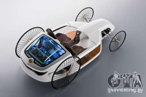 Загрузочные экраны Mercedes-Benz F-CELL Roadster для GTA 4 шестой скриншот