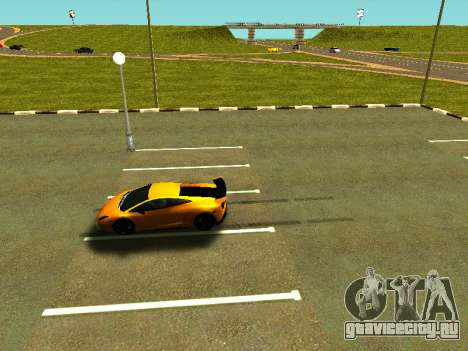 Lamborghini Gallardo Super Trofeo Stradale для GTA San Andreas вид сбоку