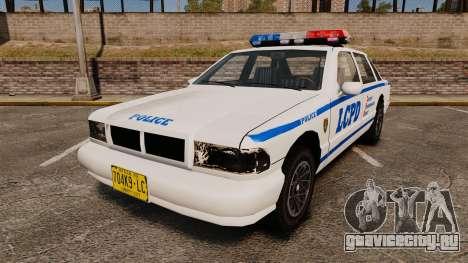GTA SA Police Cruiser LCPD [ELS] для GTA 4