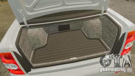 ВАЗ-2170 Lada Priora v2.0 для GTA 4 вид изнутри