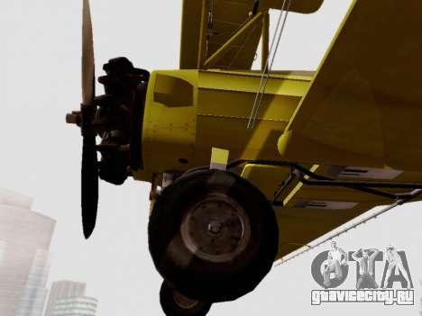 Grumman G-164 AgCat для GTA San Andreas вид сзади