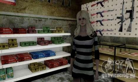 Young Blonde для GTA San Andreas второй скриншот