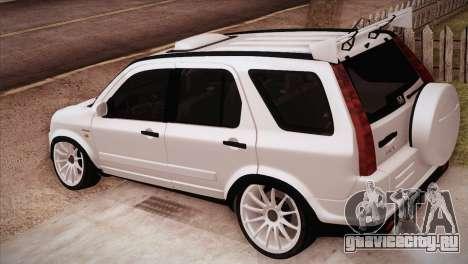 Honda CR-V Hellaflush для GTA San Andreas вид слева