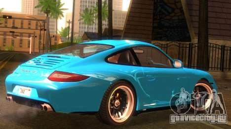 Porsche 911 Carrera GTS 2011 для GTA San Andreas вид слева