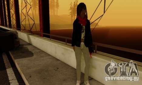 Kim Kameron для GTA San Andreas шестой скриншот