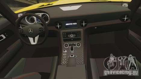 Mercedes-Benz SLS 2014 AMG Performance Studio для GTA 4 вид сбоку