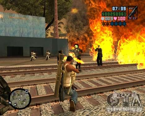 C-HUD Vice Sity для GTA San Andreas четвёртый скриншот