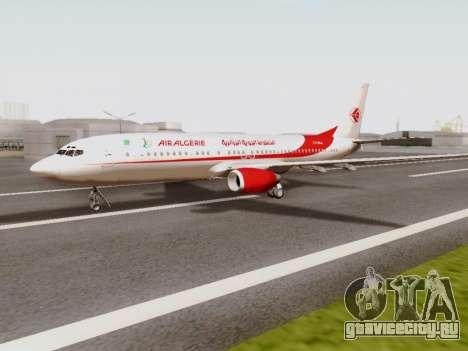 Boeing 737-800 Air Algerie для GTA San Andreas