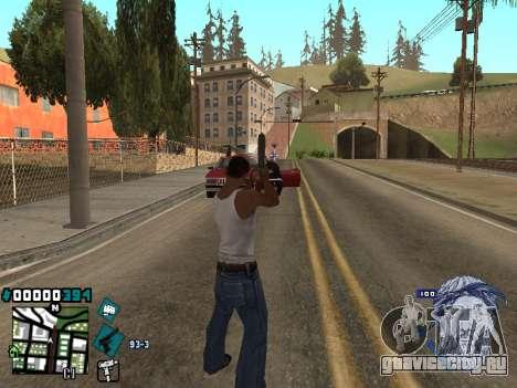 C-HUD Rifa in Ghetto для GTA San Andreas второй скриншот