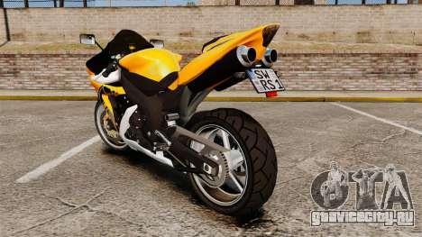 Yamaha R1 RN12 v.0.95 для GTA 4 вид справа