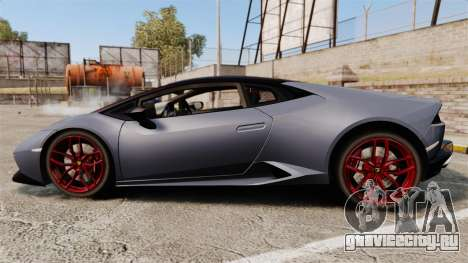 Lamborghini Huracan 2014 для GTA 4 вид слева