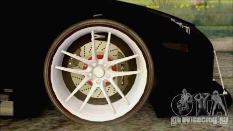 Lexus LFA Street Edition Djarum Black для GTA San Andreas вид сзади слева