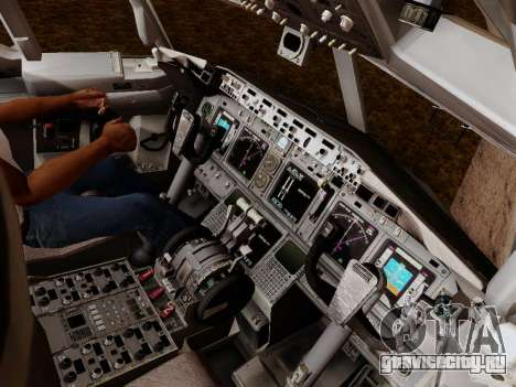 Boeing 737-800 Air Algerie для GTA San Andreas салон