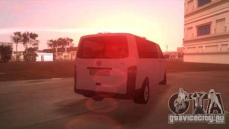 Volkswagen T5 Transporter для GTA Vice City