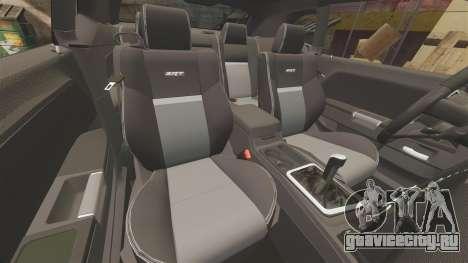 Dodge Challenger SRT8 2009 [EPM] APB Reloaded для GTA 4 вид сверху