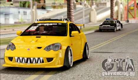 Honda Integra Mugen Type R для GTA San Andreas вид сзади слева