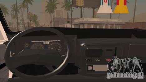 Peykan 48 Blackroof для GTA San Andreas вид сзади