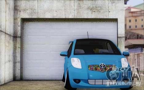 Toyota Yaris Hellaflush Young Child для GTA San Andreas