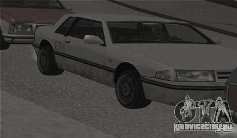 Круглые колёса на всех машинах для GTA San Andreas пятый скриншот