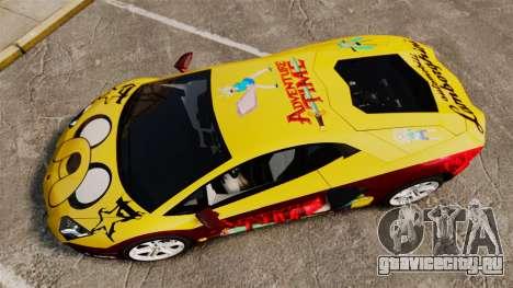 Lamborghini Aventador LP700-4 2012 [EPM] Jake для GTA 4 вид справа